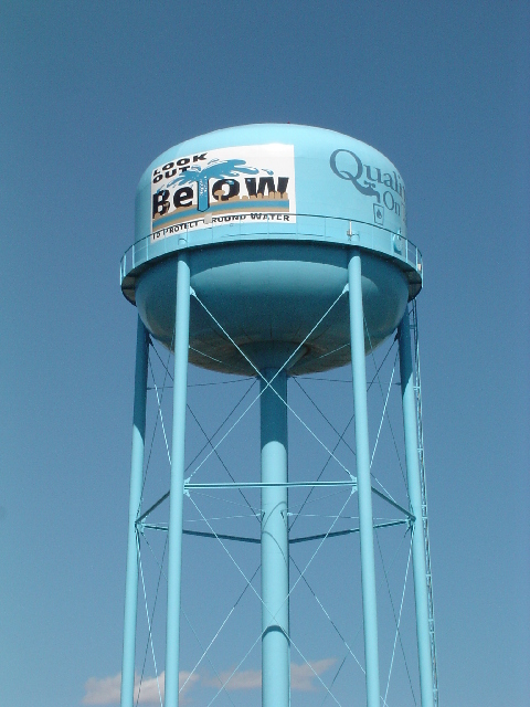 Eagle water tower