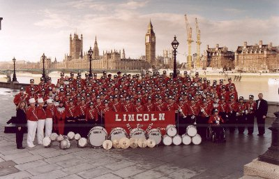 Lincoln High Band in London